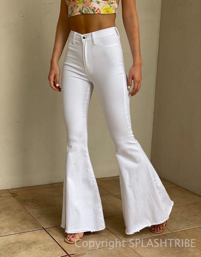 Super High Rise Flare Jeans