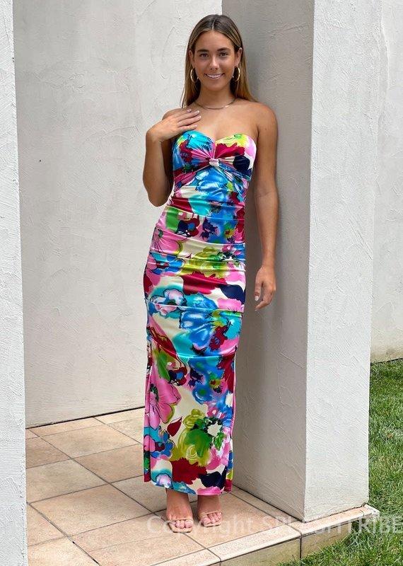 Sabrina Strapless Maxi Dress