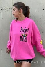 Boys Lie Perfect Match Crewneck Pink O/S