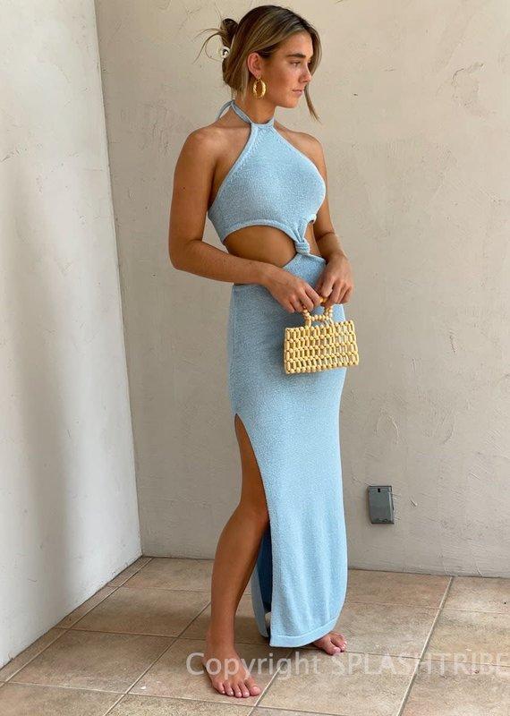 Kourt Knit Cutout Maxi Dress