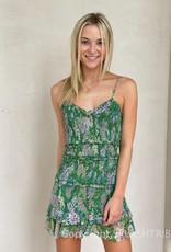 Blaire Floral Smocked Mini Dress