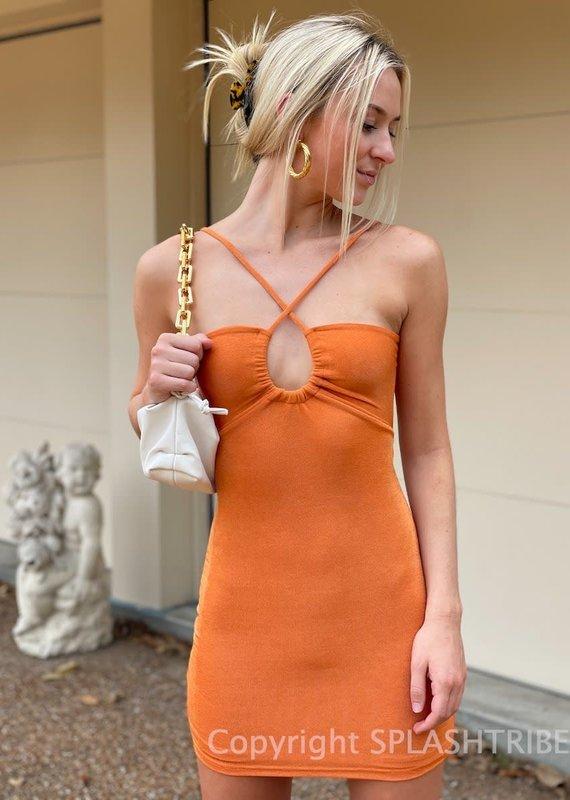 Peppermayo Golden Girl Mini Dress