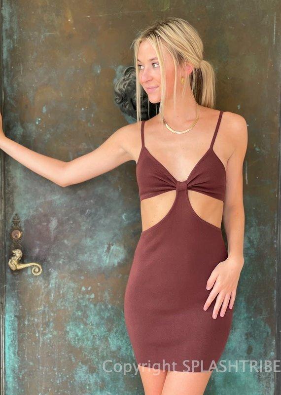 Peppermayo Iman Knit Mini Dress