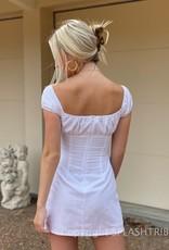 Peppermayo Eastwood Linen Mini Dress