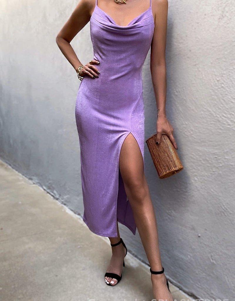 Slinky Slip Dress