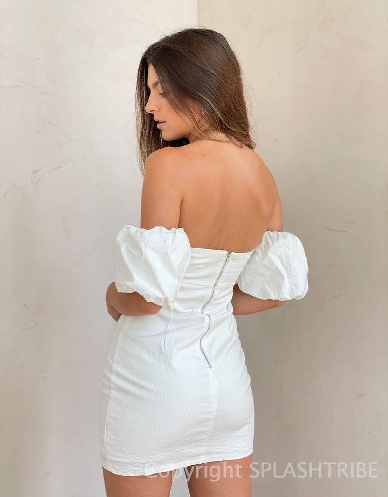Hope Strapless Cutout Mini Dress