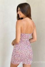 Mixed Prints Patchwork Mini Dress