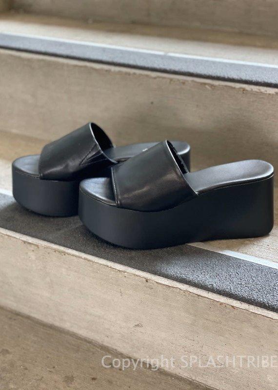 Platform Slide Sandal