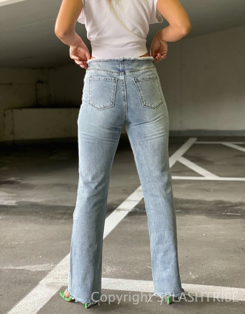 Lioness Mariah Frayed Jeans