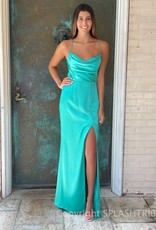 Brianna Drape Maxi Gown