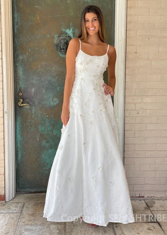 Eliza Lace Maxi Gown