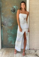 Amelia Stripe Maxi Gown