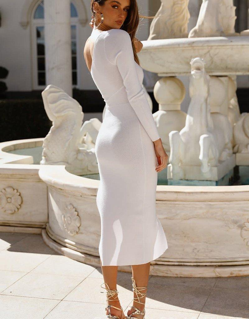 Galina Knit Midi Dress