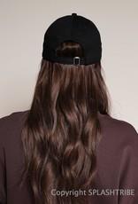 LA Embroidered Baseball Hat Black