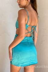 Honor Strappy Back Mini Dress