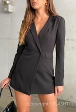 Blazer Romper Dress