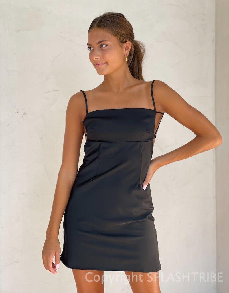 Ren Strappy Open Back Mini Dress
