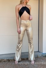 Shimmer High Rise Flare Pant
