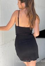 Kinsley Cowl Neck Mini Dress