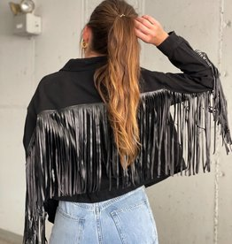 Carrie Fringed Jacket