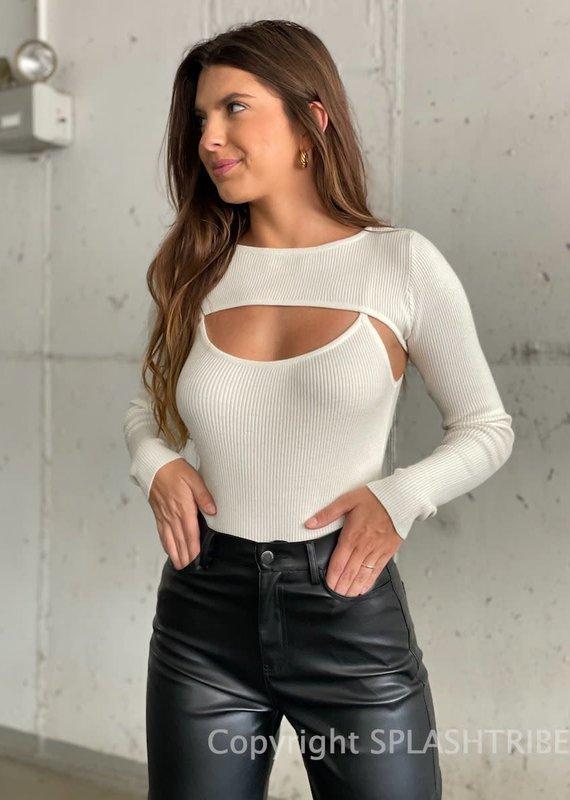 Bolero Tank Top Sweater Set