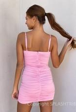 Kayla Ruched Bodycon Mini Dress