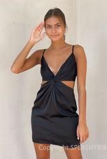 Brooke Twist Cutout Mini Dress