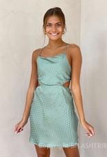 Evie Cutout Tie Back Mini Dress