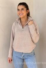Quarter Zip Plush Sweater
