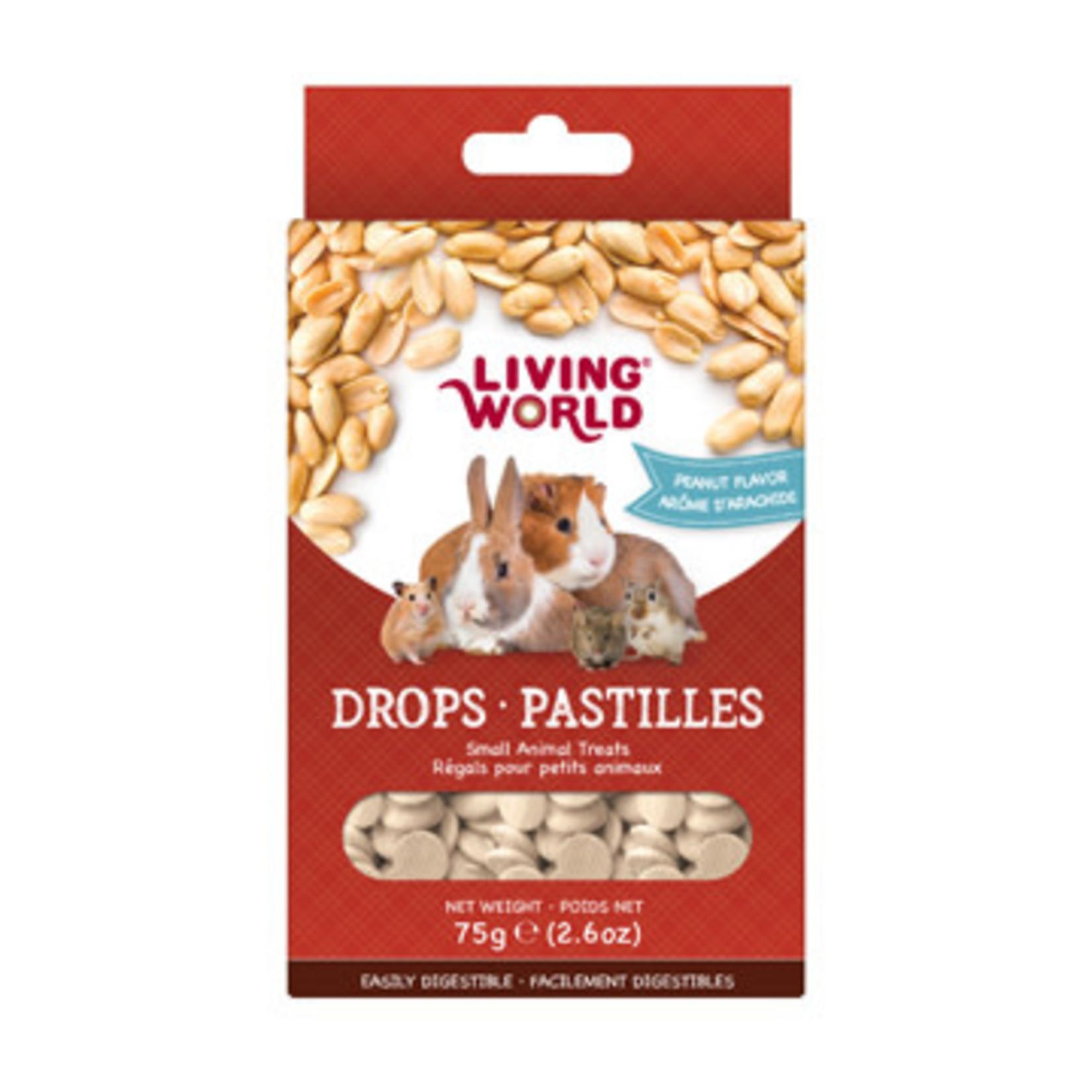 Living World Small Animal Drops 75g