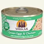 Weruva Weruva Cat Can green eggs and chicken 156 g