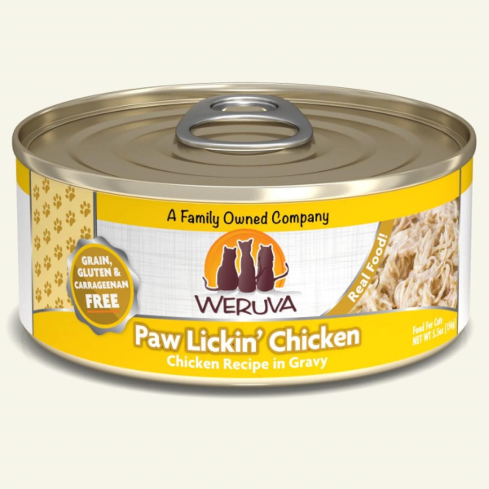Weruva Weruva Cat Can paw lickin chicken 156 g