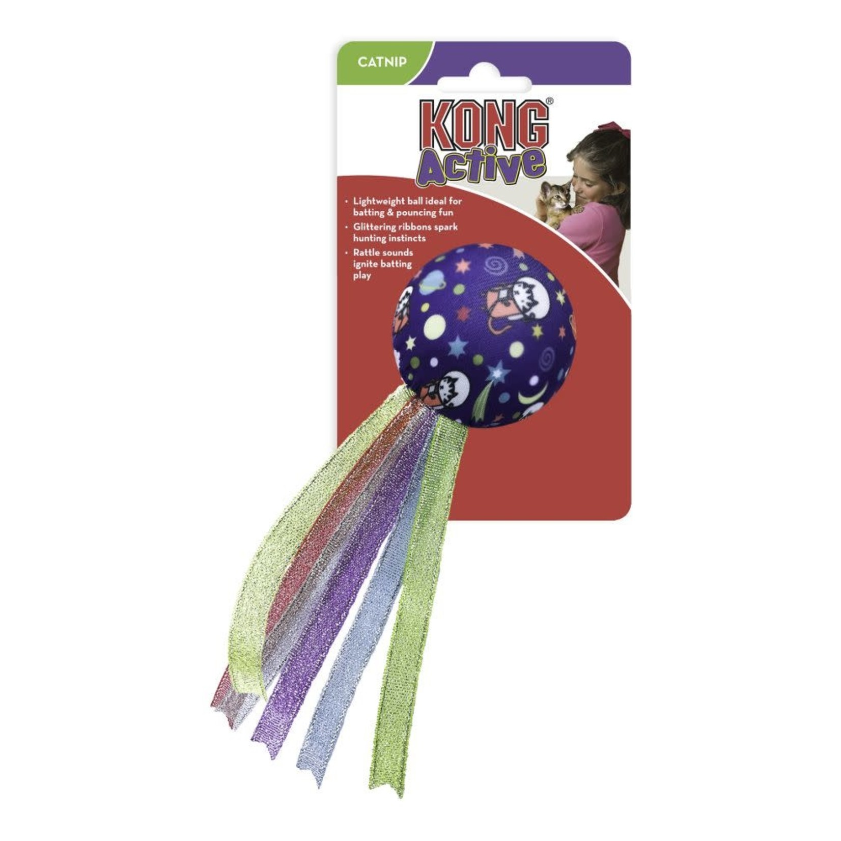 Kong Kong Active space ball Cat Toy