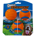 Chuckit Chuckit! Fetch Medley Gen 3 Medium 3PK Dog Toy