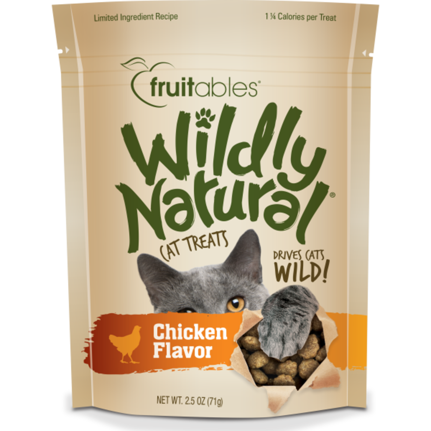 Wildly Natural Cat treat 71 g
