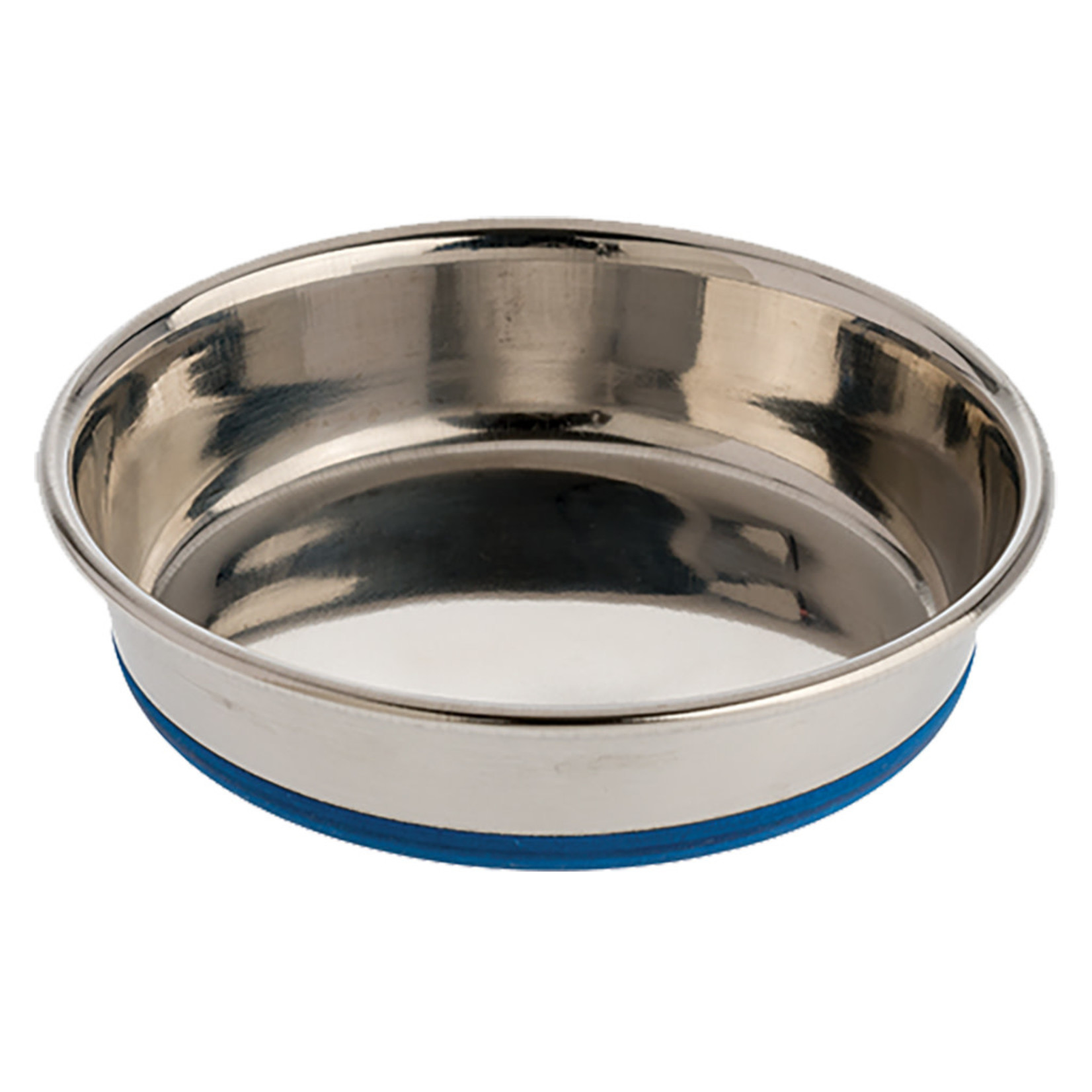 Rubber Bonded Stainless Steel Dish 16 oz