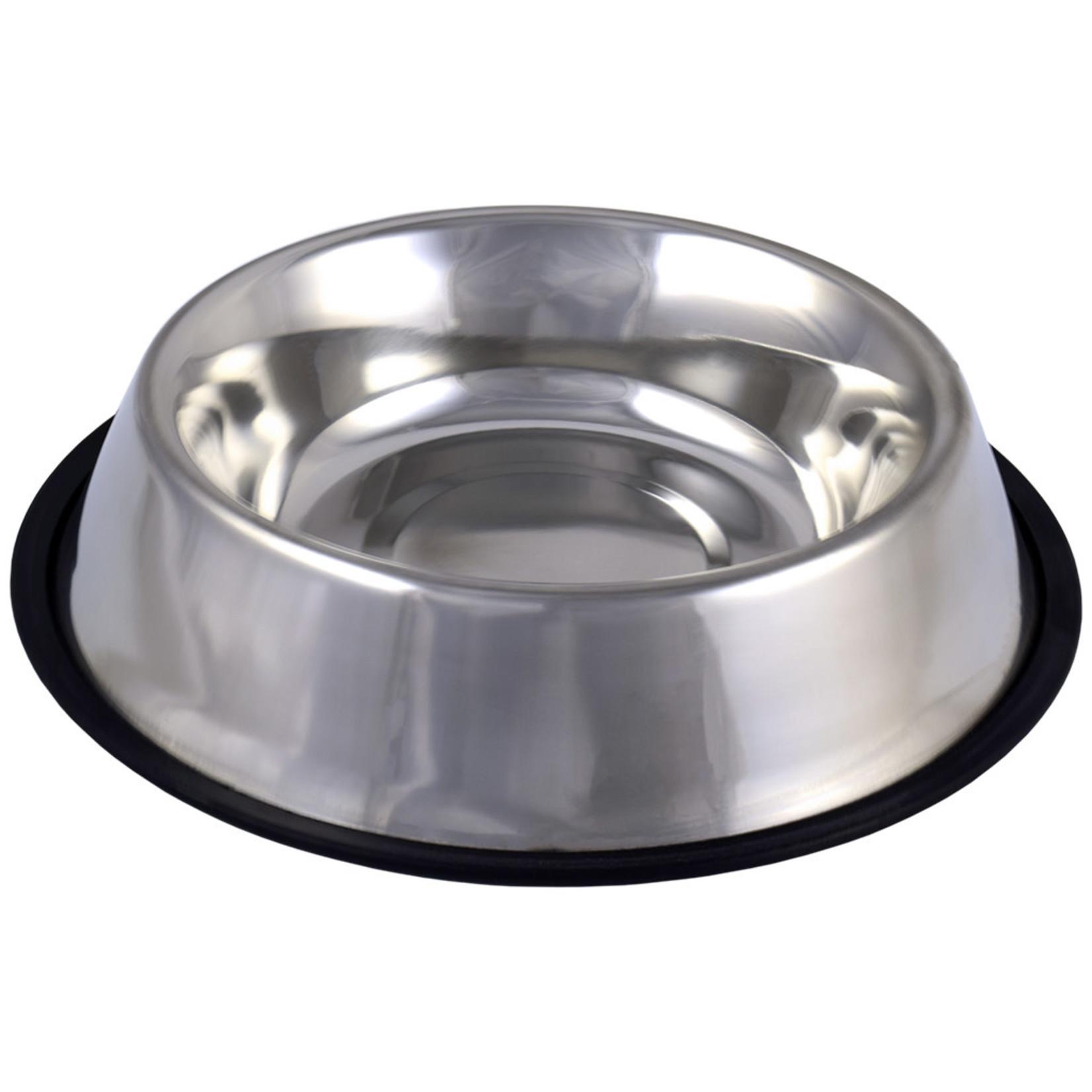 Non-Skid Stainless-Steel Enhanced Bowl