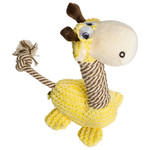 Be one Breed Be one Breed Lucy the Giraffe Dog Toy