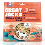 Great Jack's Great Jack's Dog treat freeze dried salmon