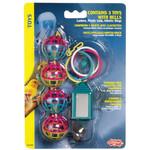 Living World Bird Toy Bell + Balls