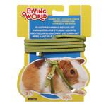 Living World Guinea Pig Harness + Lead green
