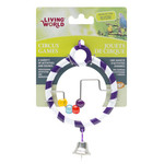 Living World Round Purple Toy with Bell