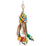 Bird Toy Colorful Star Basket