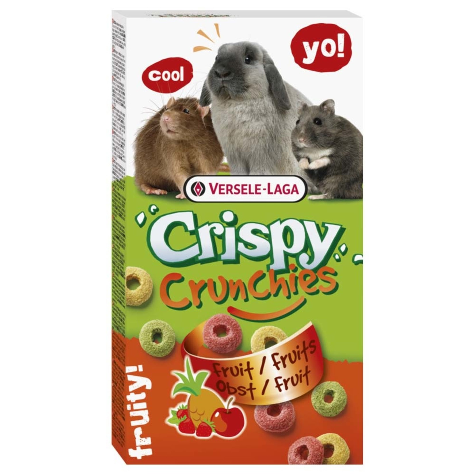 Versele-Laga Crispy Crunchies fruits for small animal 75g