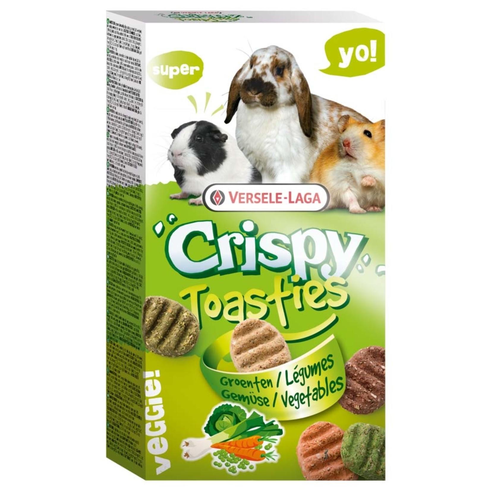 Versele-Laga Crispy toasties vegetable for small animals 150 g