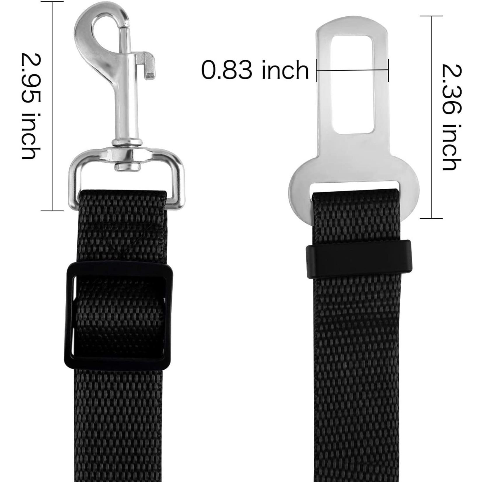 Adjustable Car Belt S M dogs