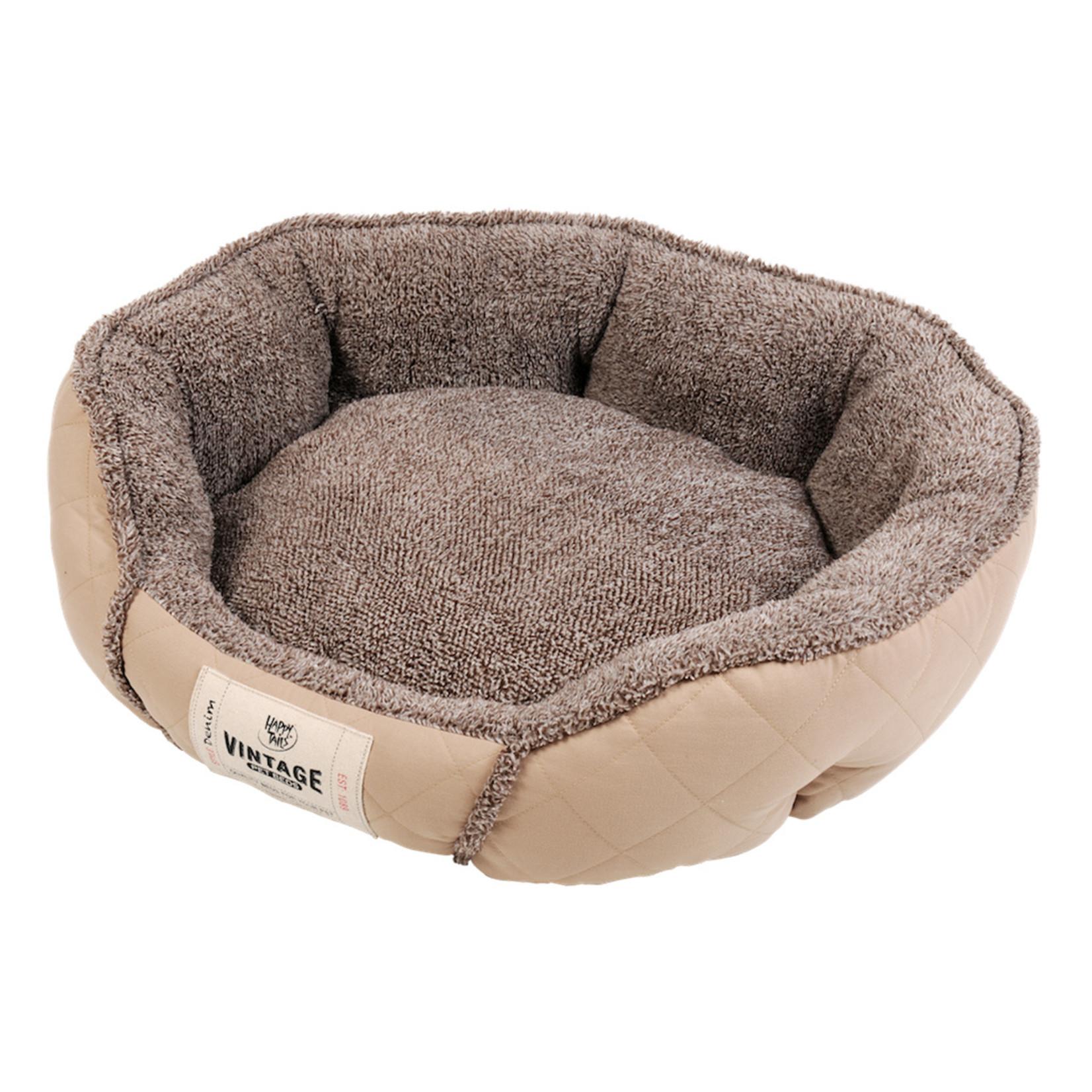"""Dog Bed cuddles brown 21x17"""""""