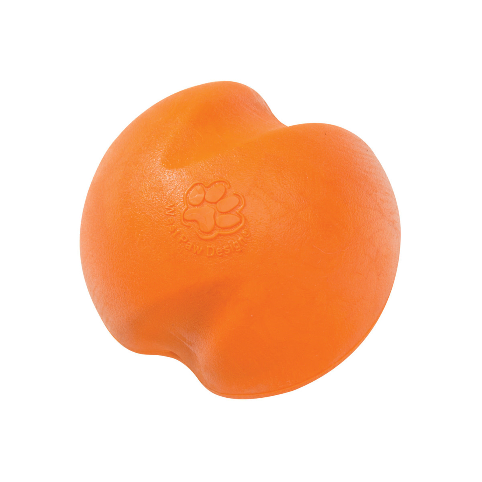 """West Paw Jive XS ball 2"""" - orange dog toy"""