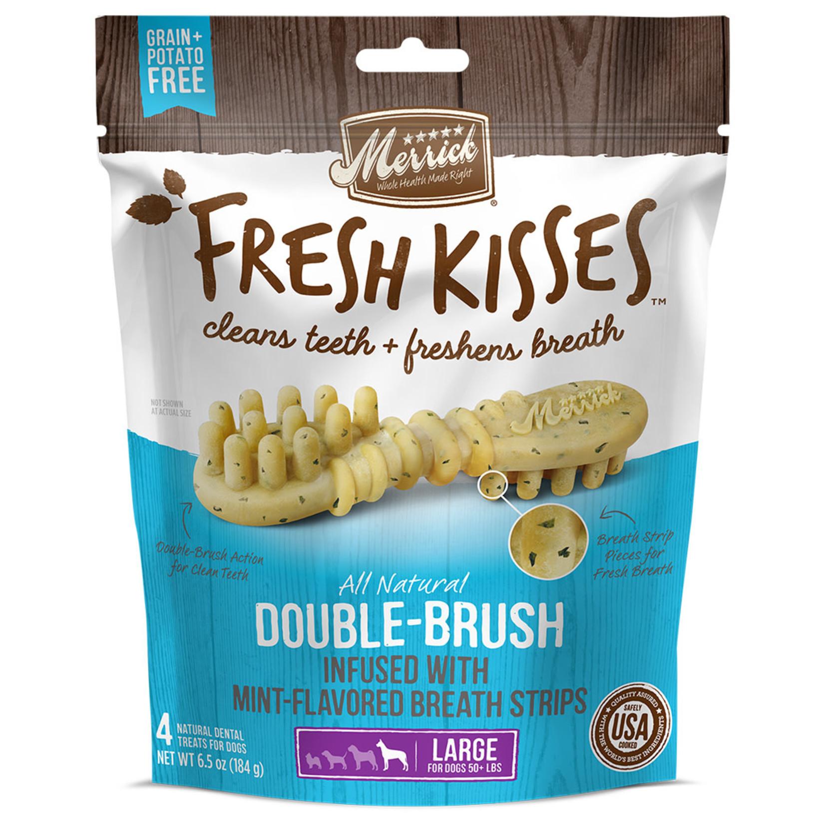 Merrick Fresh Kisses Mint L 184 (4chews)