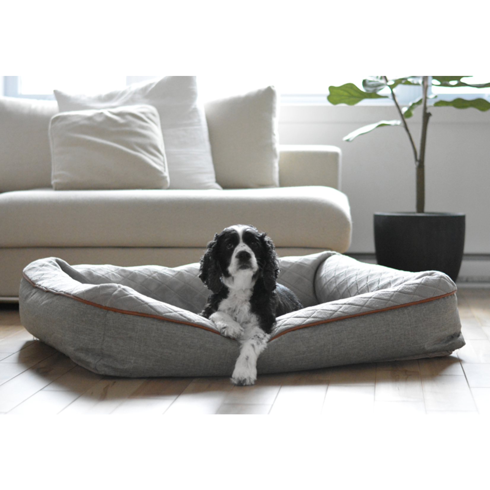 """Be one Breed Be one Breed Snuggle Bed gray small/medium 23x30"""""""